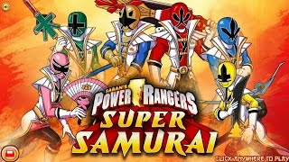 Power Rangers Super Samurai Nickelodeon Games Antonio Construction Zone Gameplay