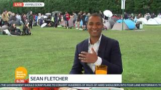 Andy Murray Hopes To Reach The Third Round Of Wimbledon | Good Morning Britain