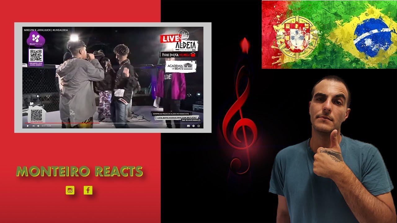 Download (Gringo 🇵🇹 React) MIKEZIN X JAYALUUCK & JAYALUUCK X JAFARI  GRANDE FINAL #LIVEALDEIA
