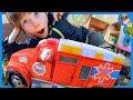 RAT DRIVING an AMBULANCE for Kids!