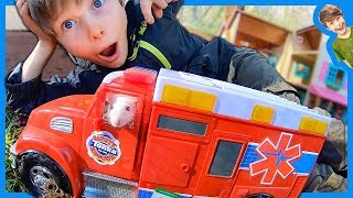 RAT DRIVING an AMBULANCE for Kids!