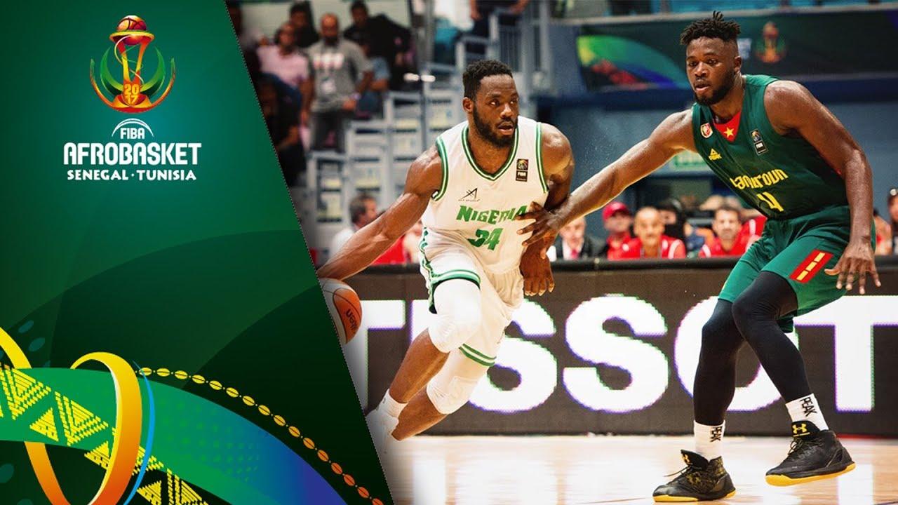 Nigeria v Cameroon - Full Game - Quarter Final - FIBA AfroBasket 2017