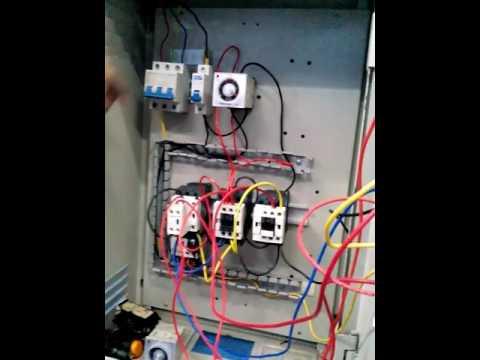 Wire Delta Wiring Diagram Rangkaian Star Delta Otomatis Youtube