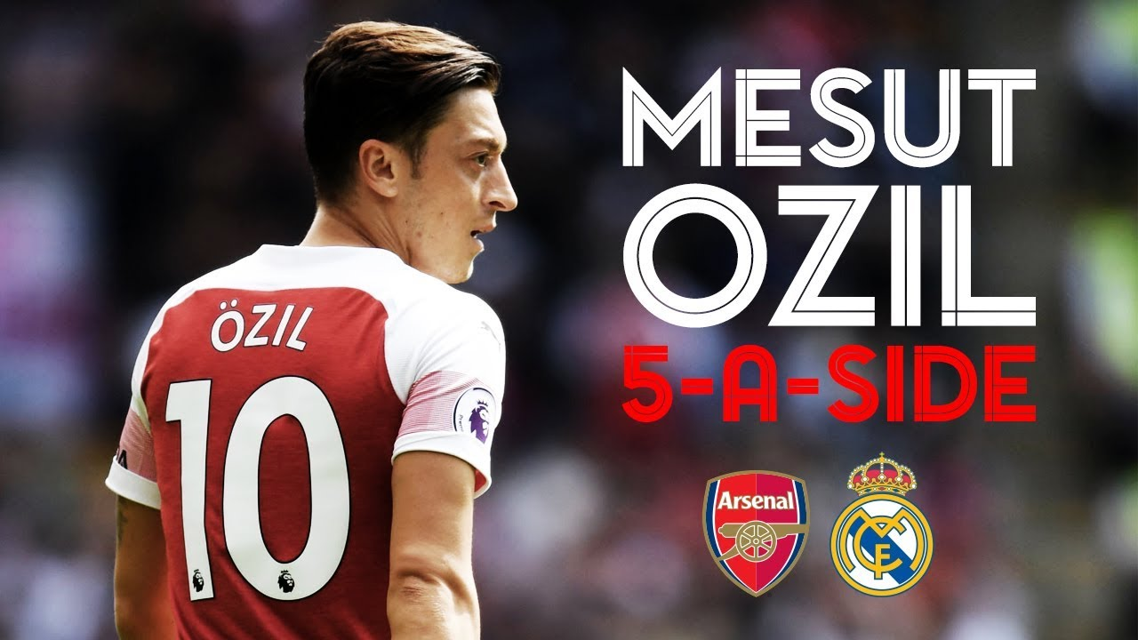 0482785fa Which players are in Mesut Ozil s dream five-a-side team  - YouTube