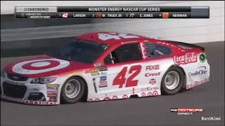 Monster Energy NASCAR Cup Series Michigan2 2017 Finish - French Commentary