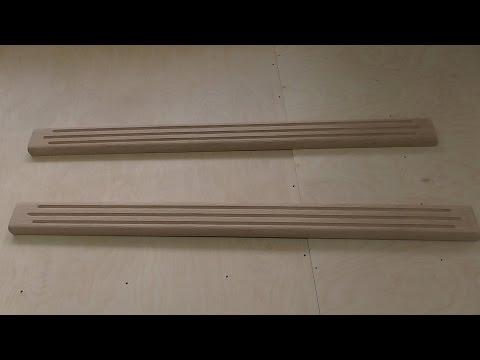 видео: Декоративные элементы мебели,часть - 4. КАННЕЛИРОВАННЫЕ, КОЛОННЫ.