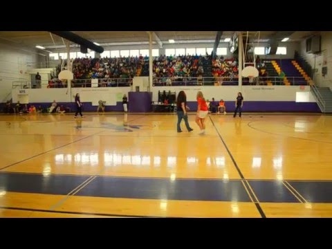 Donelson Middle School Pep Rally: Teacher Dance Competition