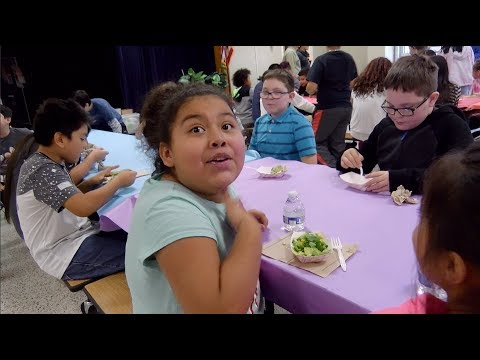 """""""We Grew It!"""": Salad Science is a Blast at Sully Elementary School"""
