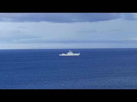 Banff Scotland navy ship