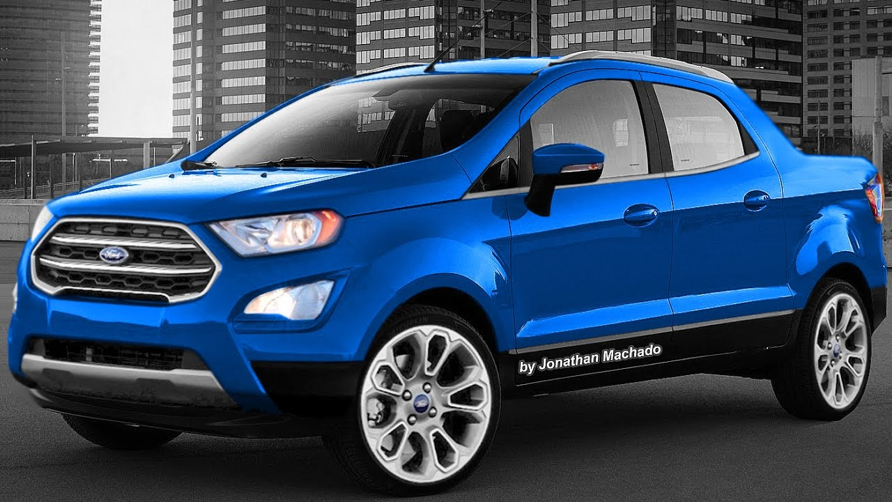 Making Of Nova Ford Ecosport Pickup 2018 Rival Da Fiat