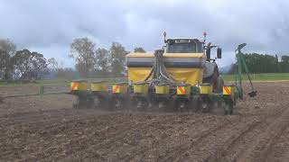 Planting Maize With Ireland Contracting In New  Zealand 2016
