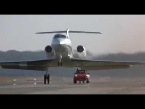 Sam Elliott blows up a jet plane