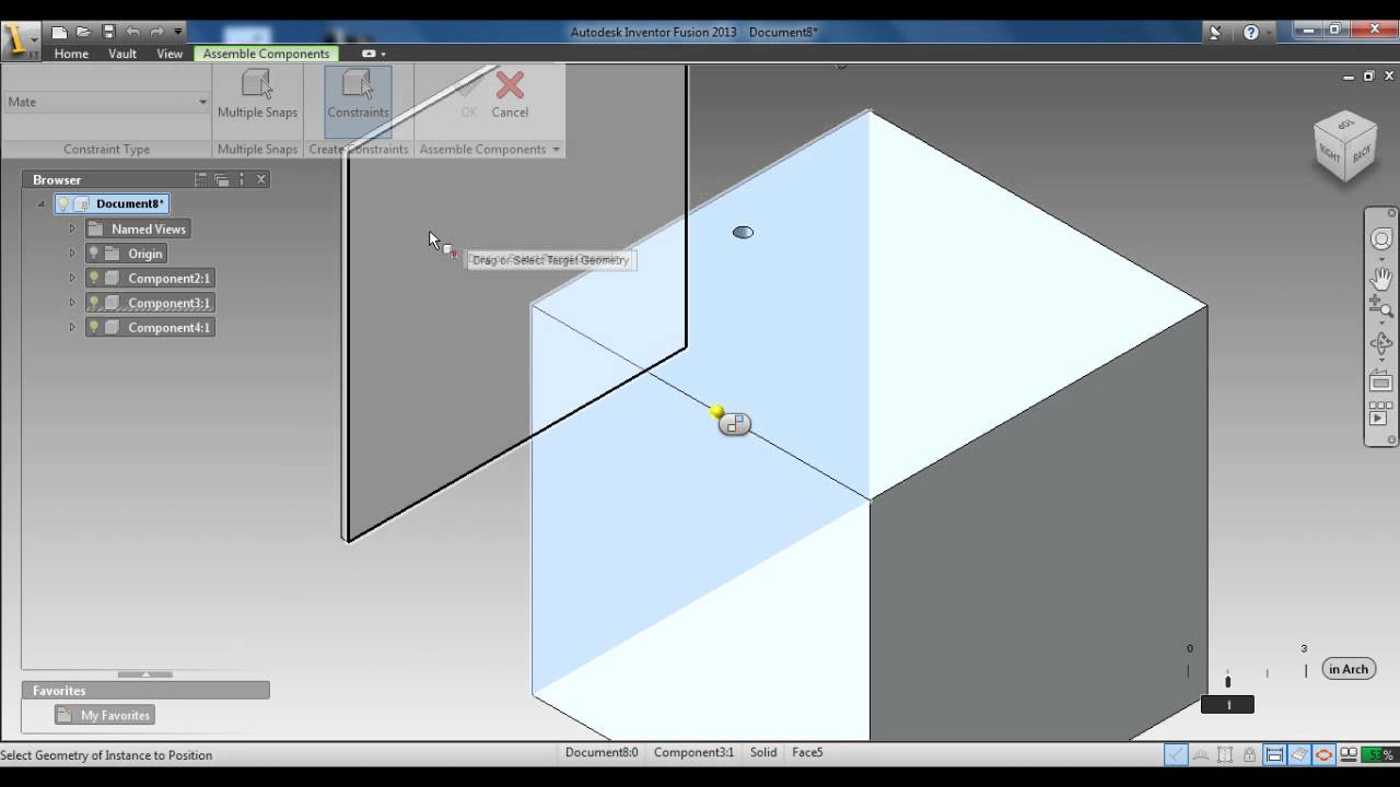 Autodesk algor simulation 2011 tutorials: create the second bolt.