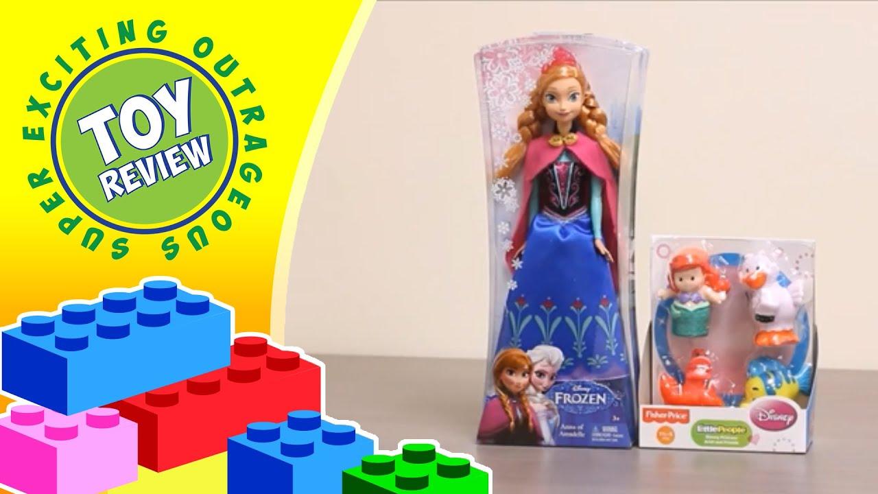 Princess Anna Doll Disney s Frozen Princess Ariel And Friends