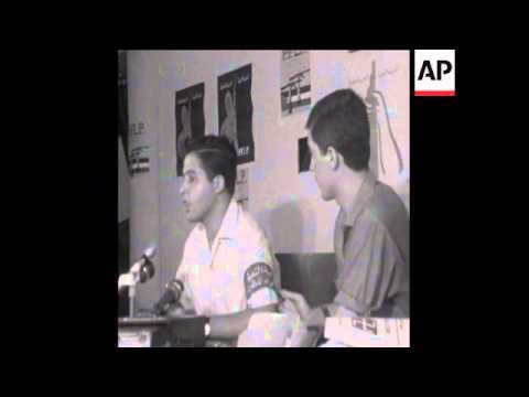 SYND 31/08/1969  POPULAR FRONT FOR THE LIBERATION OF PALESTINE PRESS CONFERENCE