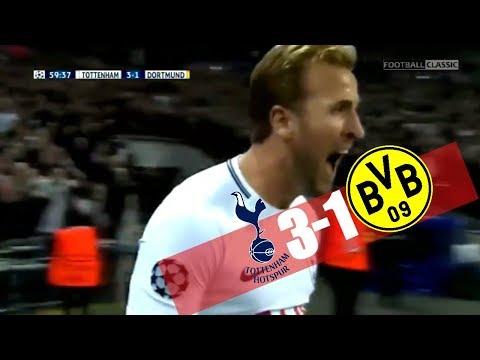 Tottenham vs Dortmund 3 - 1 All Goals & Highlights 13/09/2017