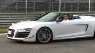 Audi Driving Experience with AC Milan Players