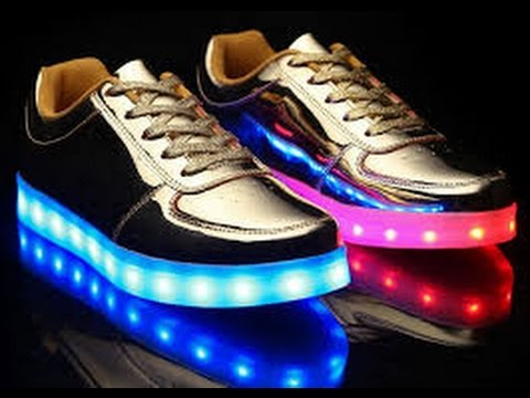 LITE UP SHOES - YouTube ff32f360e5b2