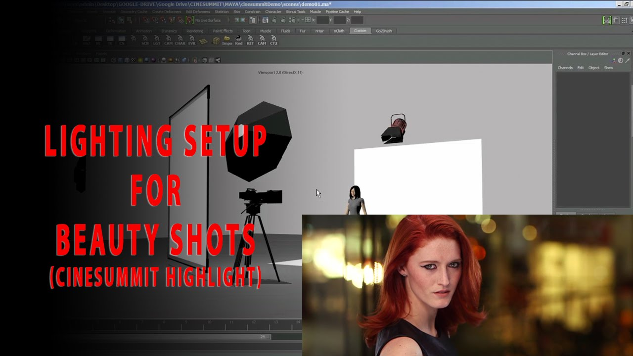 The Perfect Lighting Setup for Beauty Shots - (A CineSummit Highlight)  sc 1 st  YouTube & The Perfect Lighting Setup for Beauty Shots - (A CineSummit ... azcodes.com