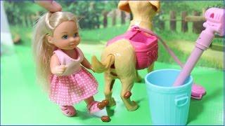 Кукла Барби ВРЕТ И ОБМАНЫВАЕТ Собака КАКАЕТ Мультик про ответственность Игры с куклами для девочек