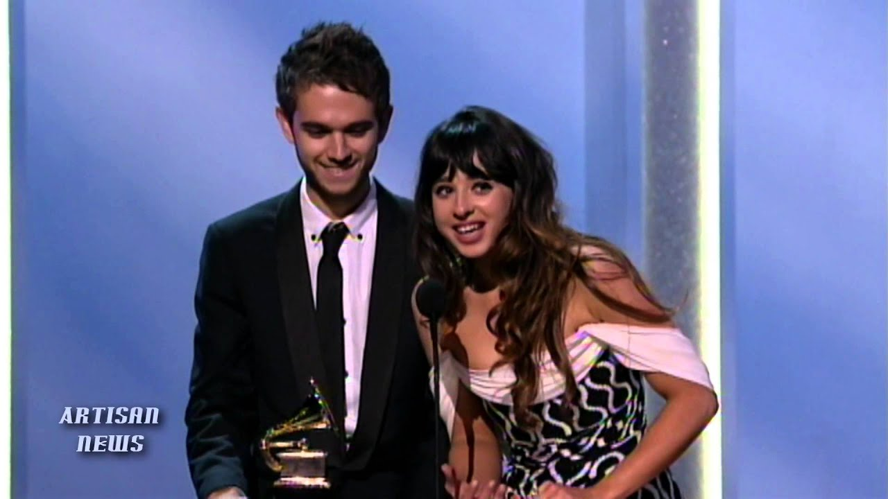"""ZEDD AND FOXES WIN GRAMMY FOR """"CLARITY"""" - YouTube  ZEDD AND FOXES ..."""