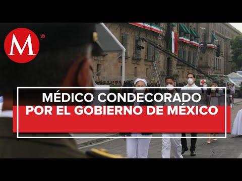 """""""Detrás de la medalla Miguel Hidalgo hay un trabajo arduo y difícil"""", dice médico ganador"""