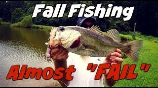 Восени ставок бас Риболовля~майже не