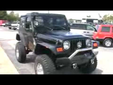 Lifted Jeep Wrangler >> 2002 Jeep Wrangler X Lifted 35 inch Buckshot mudders - YouTube