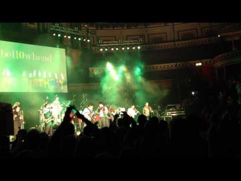 Bellowhead at the Royal Albert Hall 20 April 2014