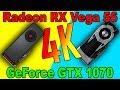 RX VEGA 56 VS GTX 1070  |4K | DX12  AND  DX11 | Comparison|