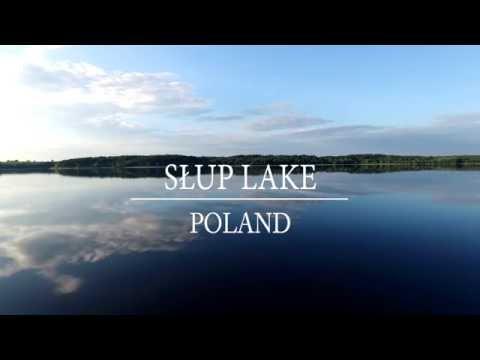 Słup Lake Poland / Zalew Słup dolnośląskie z drona