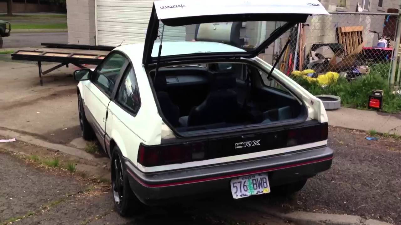 87 crx for sale 200 [ 1280 x 720 Pixel ]