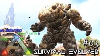 ARK: SCORCHED EARTH - NEW ROCK ELEMENTAL & MANTIS !!! E03 (ARK SURVIVAL EVOLVED GAMEPLAY)