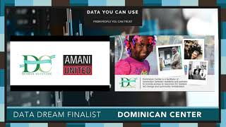 Data Day 2020 - Data Dream Finalist - Dominican Center