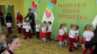 """Grupa """"Serduszek"""" już po pasowaniu na przedszkolaka"""
