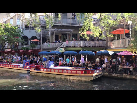The River Walk & The Alimo San Antonio Texas iPhone 7 Video