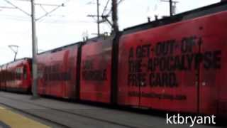 Comic-Con 2013 - Extra Long SD Trolley Sets, Amtrak Surfliner & Coaster Trains & Special Wraps
