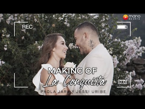 Paola Jara, Jessi Uribe - La Conquista l Making Of