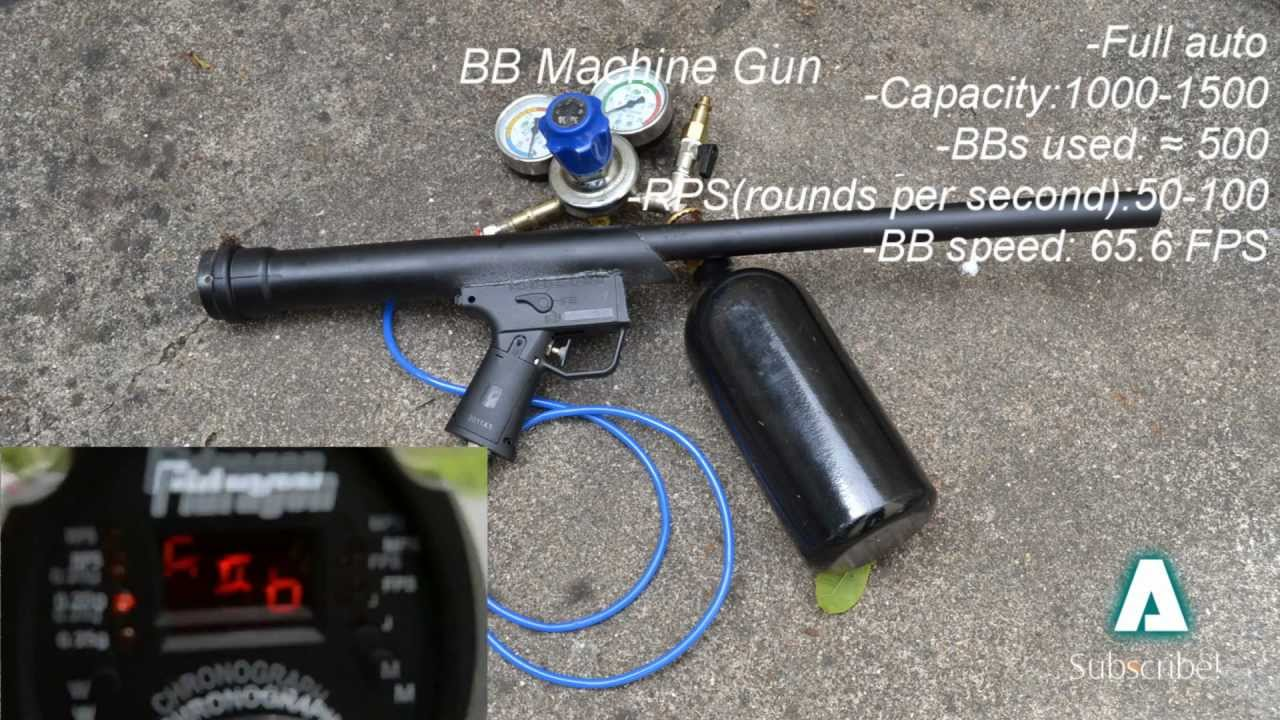 bb gun machine