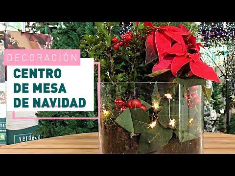 DIY: Centros de mesa navideños | Verdecora