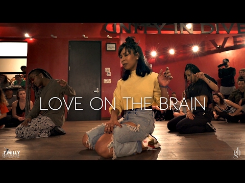 Rihanna - Love On The Brain - Choreography...