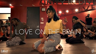 rihanna love on the brain choreography by galen hooks filmed by timmilgram