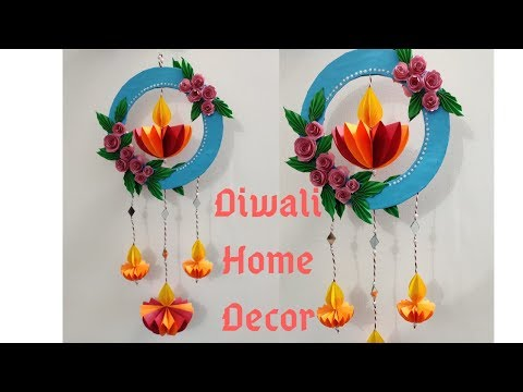 DIY Diwali Home Decor | Paper Wall Hanging | Paper Craft | Decoration Ideas