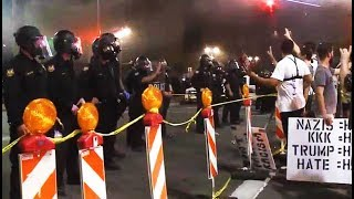 2017-08-26-01-30.Trump-Rally-Phoenix-Police-Use-Flash-Bangs-Tear-Gas-To-Disperse-Peaceful-Protest