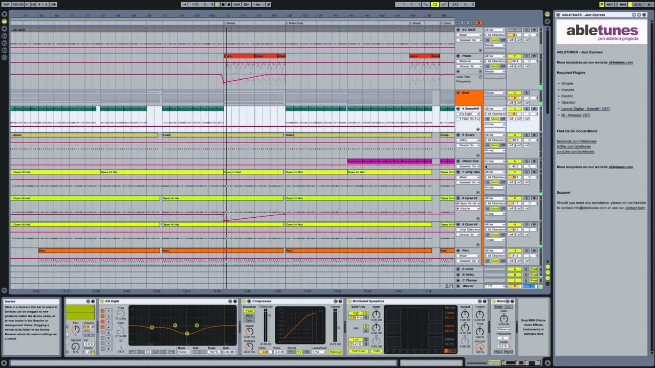 Future House Ableton Live Template Timeless - YouTube