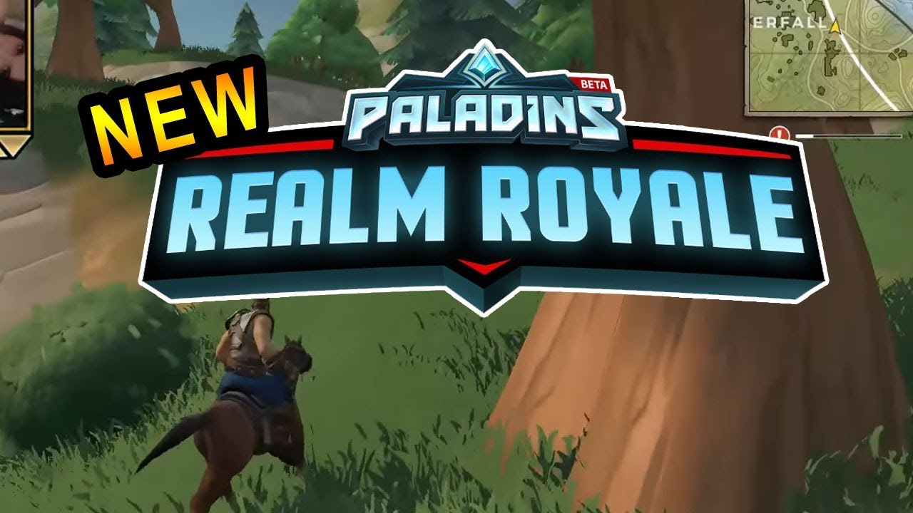 NEW PALADINS REALM ROYALE! (Gameplay With Download Link ...
