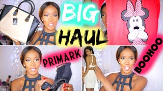Big FASHION Haul PRIMARK & BOOHOO .. ♡