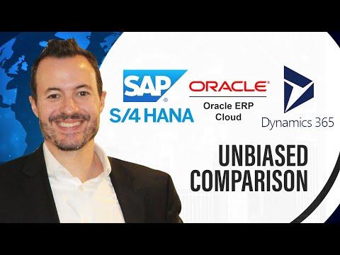 Independent Comparison of SAP S/4HANA vs  Microsoft Dynamics