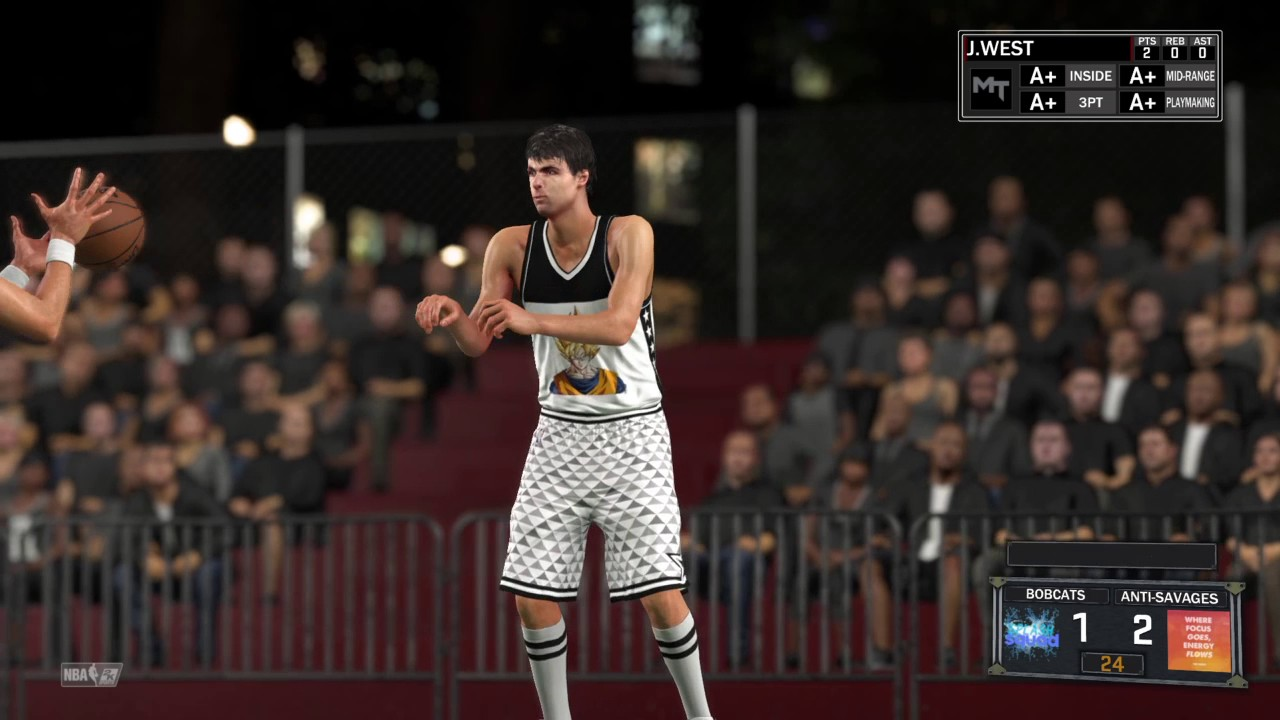 NBA 2K17 PINK DIAMOND JERRY WEST AGAIN GREEN LIGHT