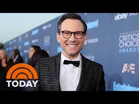 Christian Slater: Golden Globe Nod For 'Mr. Robot' Is 'Wonderful Surprise' | TODAY
